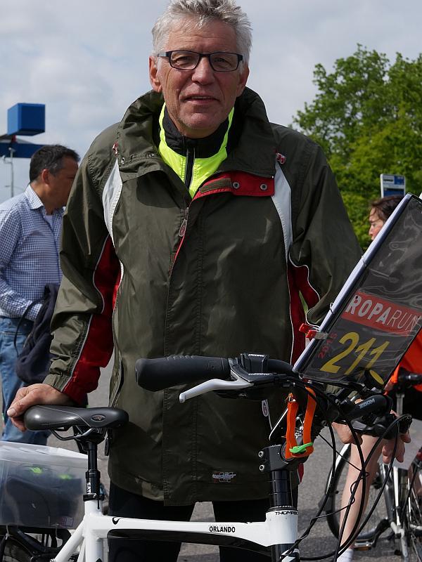 Johan van der Veen Roparun 2015 - Fietser Team 211