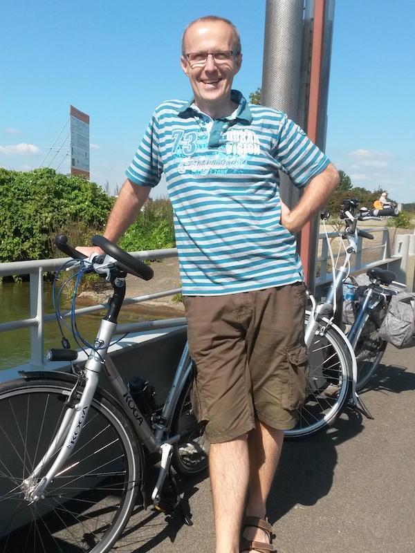 Ton van der Meijden Rondje pontje fietsen