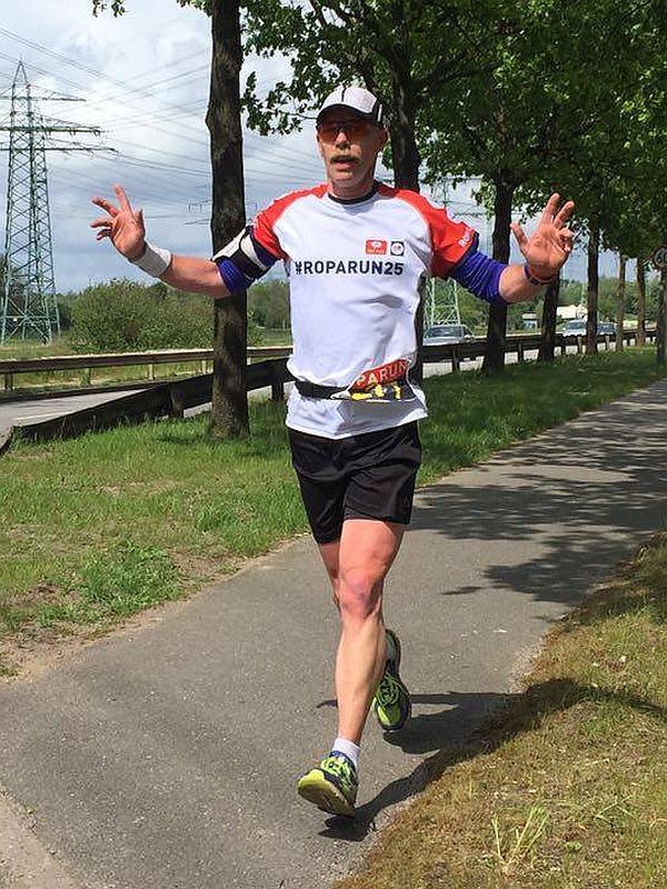 Henk Warris Roparun 2016