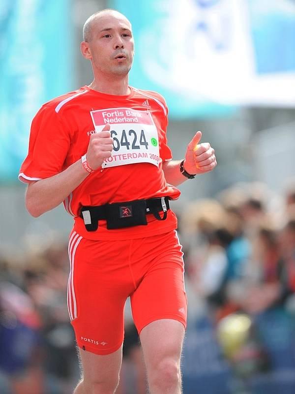 Marc Reesink marathon Rotterdam 2009