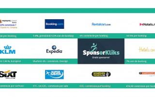 Gratis sponsoring met uw zakenreis