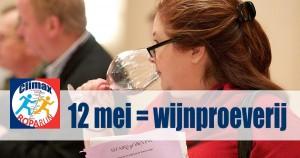 12 mei = Roparun wijnproeverij