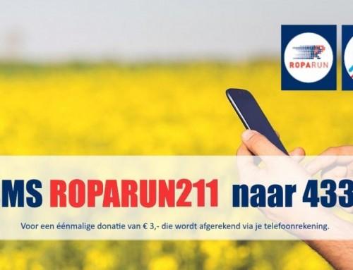 Doneren met een SMS bericht