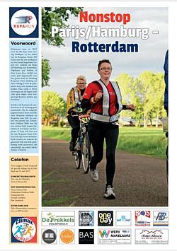 Voorpagina Roparun Bijlage EdeStad 2017