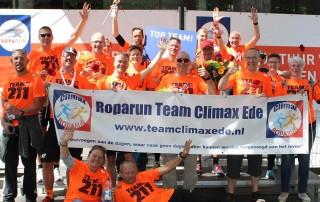 Roparun Team Climax Ede 2017 Team 211 finishfoto