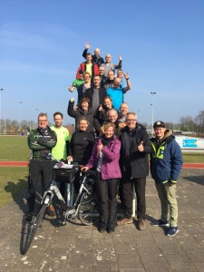 Team 211 Roparun Team Climax Ede 2017